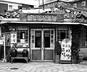 bianco e nero, shop, and black and white image