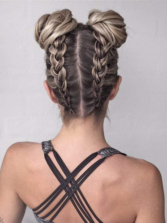 hairstyles, شعر, and افكار image