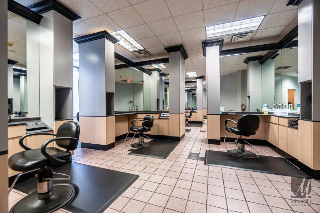 beauty, bridal, and hair salon image