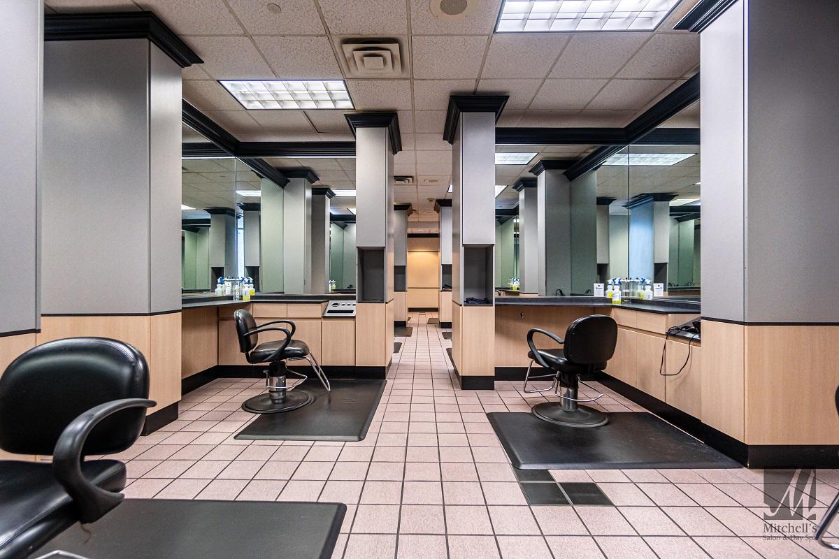 beauty, hair salon, and hair stylists image