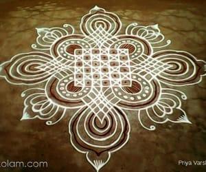 rangoli, art, and rangoli design image