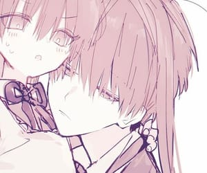 anime, couple pfp, and art image