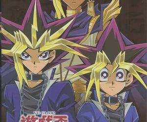 anime, yugioh, and yami yugi image