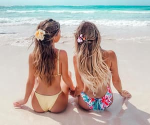 summer, summer girl, and summer hairstyle image