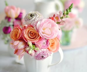 flowers, bouquet, and pretty image