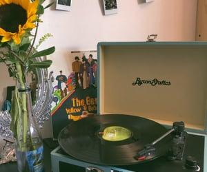beatles, yellow submarine, and music image
