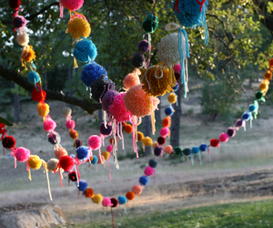 colorful, decorations, and garland image