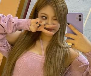 mirror, kpop, and selfie image