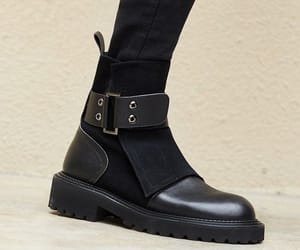 ankle boots, black, and clean image