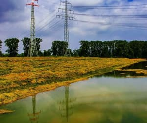 germany, 2021, and powerline image