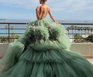 fashion, green, and beauty image