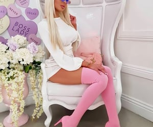 barbie, beauty, and blondie image
