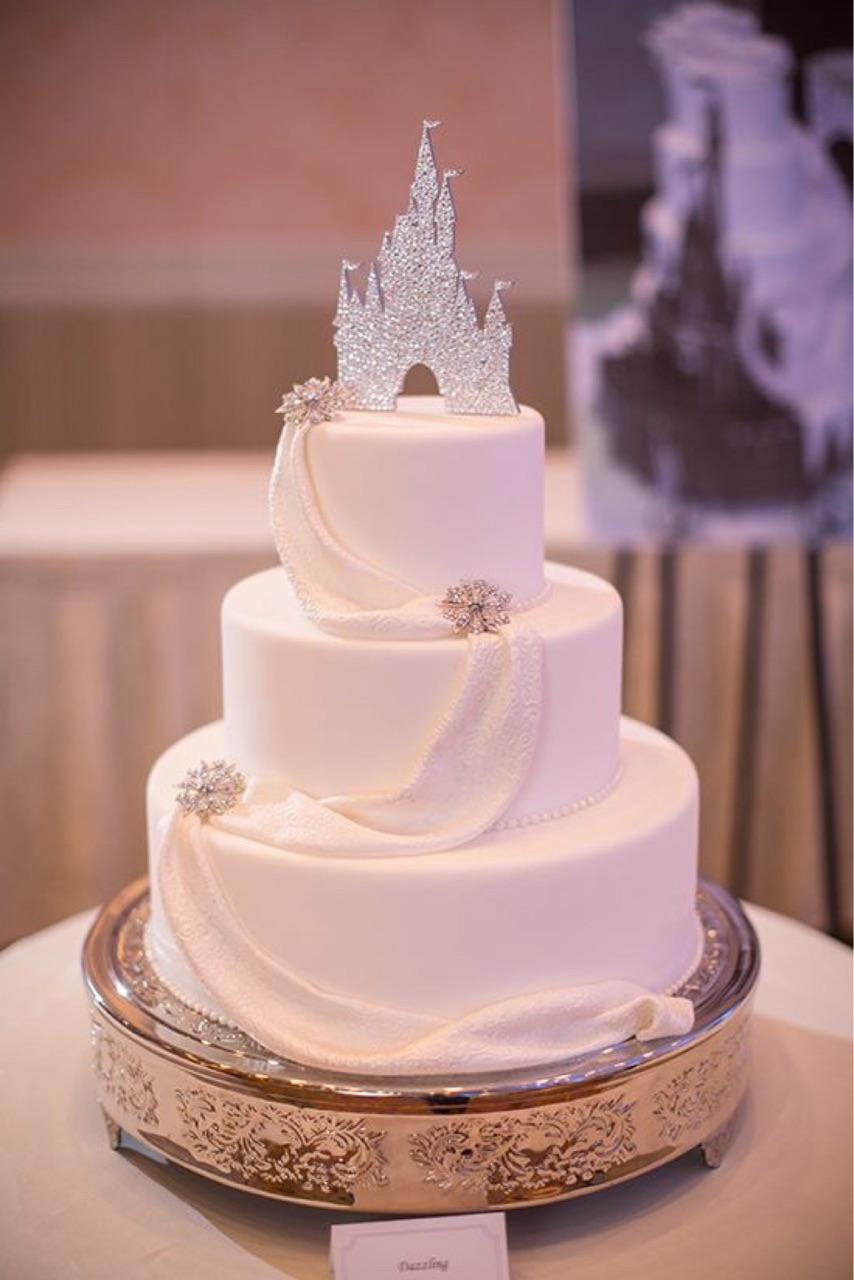 cake, wedding, and disney image