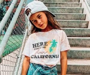 girls tie-dye t-shirts and girls cali t-shirt image
