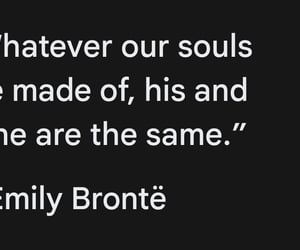 emily bronte, romance, and quotes image
