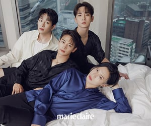 Jonghyun, key, and marie claire image