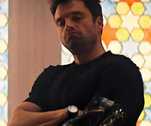 sebastian stan, the winter soldier, and tfatws image
