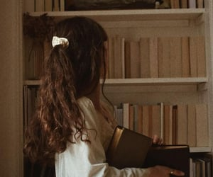 book, girl, and aesthetic image