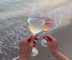 fashion, vacation, and wine image