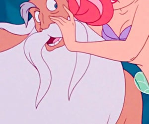 1989, mermaid, and disney image