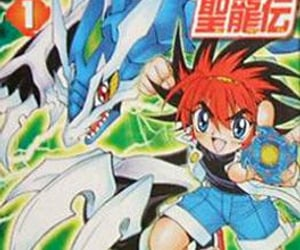 manga, beyblade, and ベイブレード image