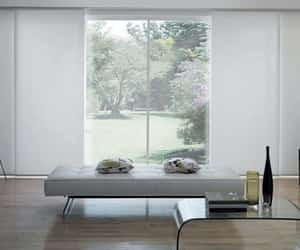 cheap curtains online, blind on line, and white roman blinds image