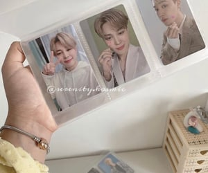 aesthetic, photocard, and bts image