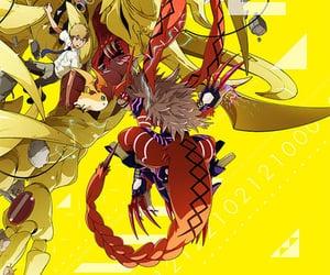 anime, digimon, and digimon adventure tri image