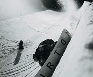 board, sport, and snowboarder image
