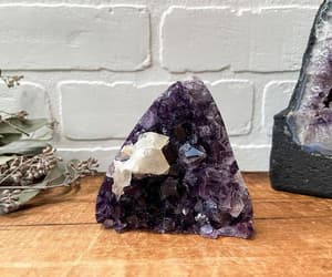 amethyst, boho, and crystals image