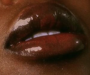 lipstick, makeup inspo black women, and luxurious image