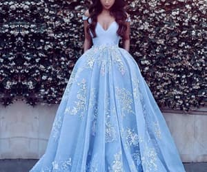 blue, cute!, and wedding dresses image