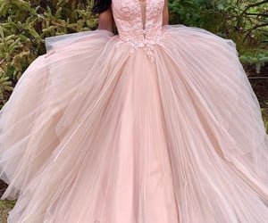 beautiful, wedding dresses, and champaign color image