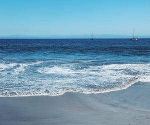 aesthetic, beach, and water image