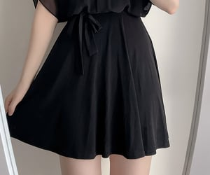 dress, asian fashion, and halter image