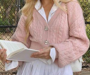 Fashion || pink sweater