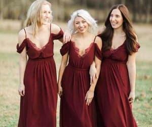 dress, bridesmaid dresses, and eveningdresses image