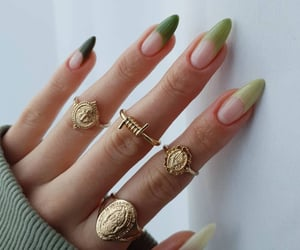 fashion, beauty, and green image