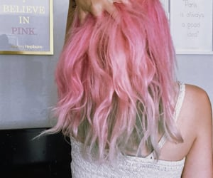 audrey hepburn, hair, and pink image
