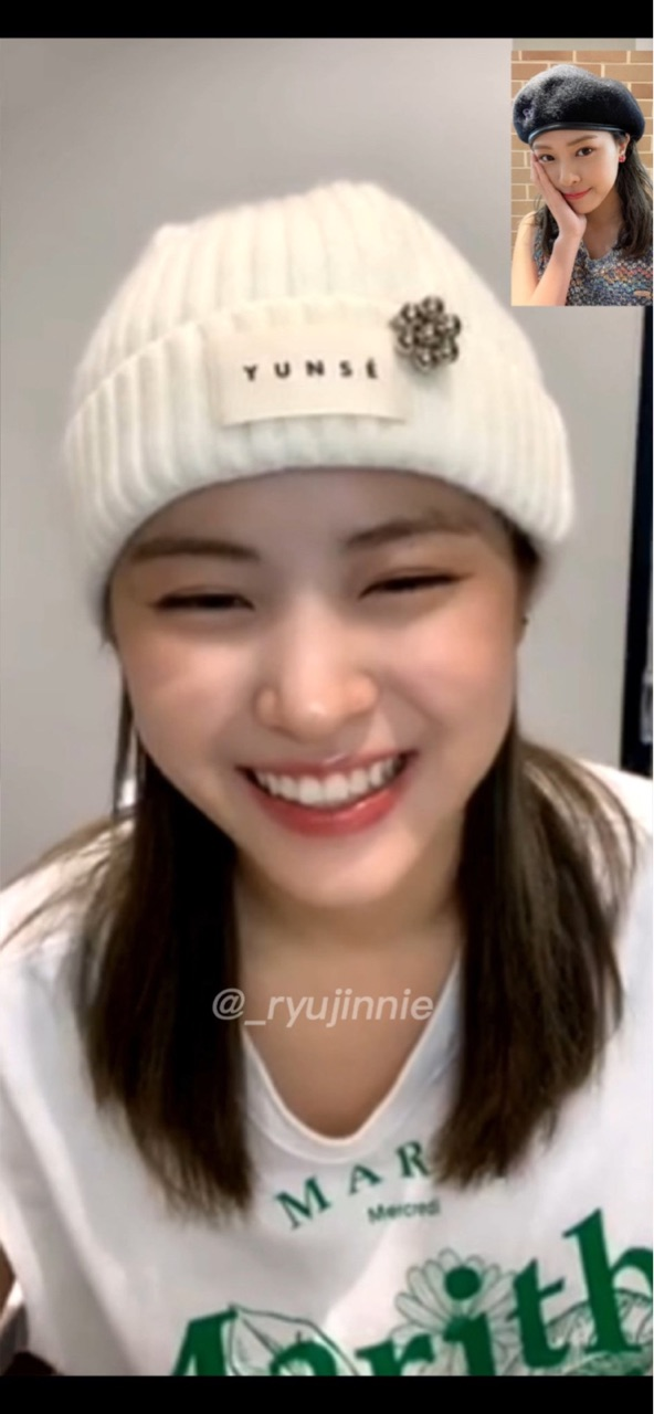 ryujin, fansign, and video call image