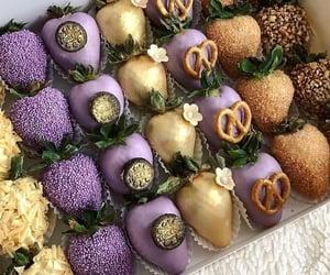 brown, purple, and chocolat image