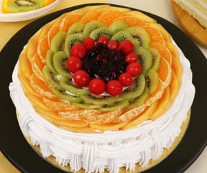 baking, cake, and food image