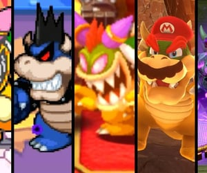 article, Bowser, and mario image