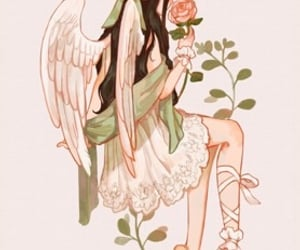 angelic, dress, and inspiration image