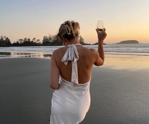 accessories, beach, and dress image