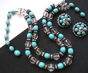 etsy, hollywood regency, and crystal glass beads image