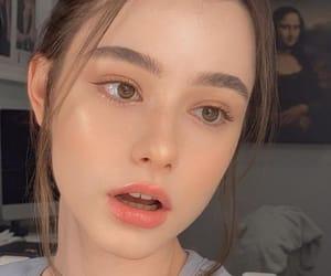 korean, model, and natural makeup image