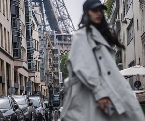 blur, city, and coat image