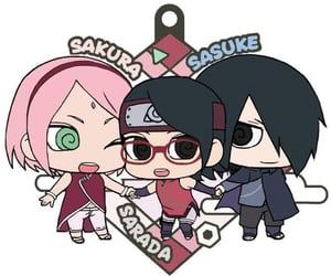 naruto, sasuke, and haruno sakura image