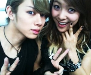 kim heechul, f(x), and park sunyoung image
